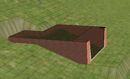 how to make a garage with foundation on sims 3